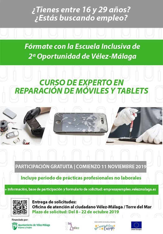 Cartel programa ReparaTIC